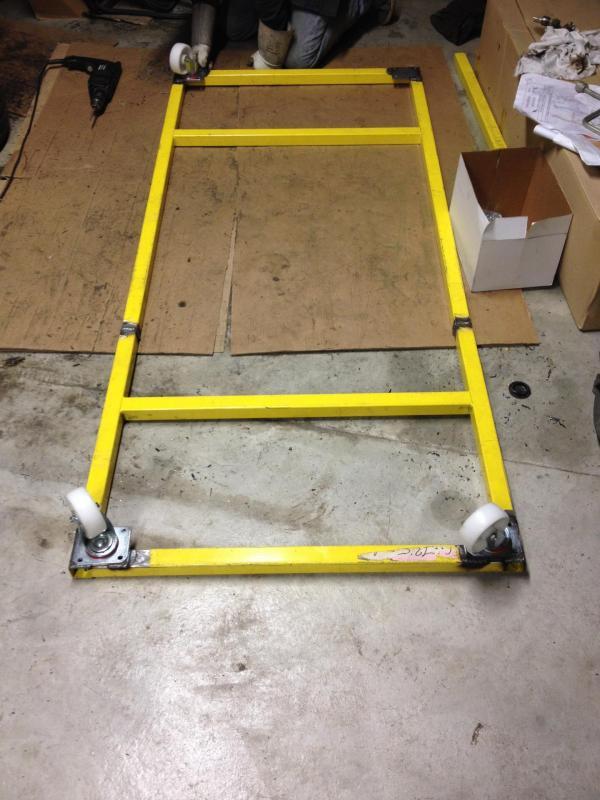 2015 02 28 realisation d un chassis pour deplacer la saxo 1