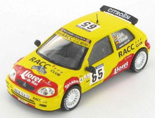 Citroen saxo s1600 sola romani rally catalunya 2002 1 43 4370 p