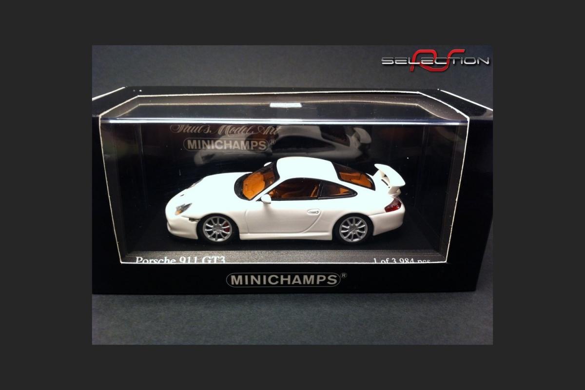 Porsche 911 type 996 gt3 2 blanche 2003 ref 400062022
